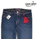 【36】 JACOB COHEN ヤコブコーエン ジーンズ J688 メンズ ブルー 青 並行輸入品 メンズファッション 男性用 ビジネス デニム 大きいサイズ 日本未入荷 ラッピング無料 送料無料