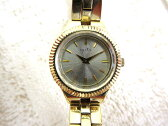 アガット agete 腕時計 ダイヤ付き レディース ゴールド 0716 レディース 【ベクトル 古着】【中古】 160716