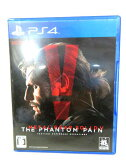 PS4 メタルギアソリッドV ファントムペイン Blu-ray ソフト ゲーム ■ 【ベクトル 古着】【中古】 160507