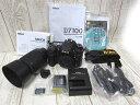 Nikon ニコン DX フォーマット デジタル 一眼レフ カメラ D7100 本体 望遠レンズ 55-200mm セット ■0904NM-5519s