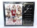 NFL 49ERS ジョー モンタナ 殿堂入り記念 直筆サイン入りパネル アメフト 【ベクトル 古着】【中古】 160321