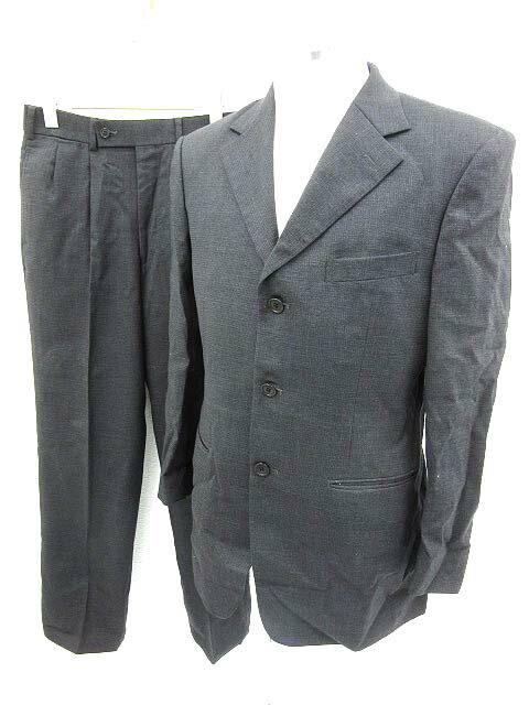 PERSONAL MARK スーツ フォーマル セットアップ ジャケット チャコールグレー 44 160425 メンズ 【ベクトル 古着】【中古】 160425