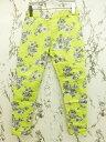 スピック&スパン Spick&Span パンプーラベルファム Pour Belle Femme パンツ イージー レギパン スキニー 花柄 36 黄色系 イエロー系 【ベクトル 古着】【中古】 160521