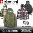 エレメント ジャケット ELEMENT リバーシブル AE022-757 チェック柄 ダウンスタイル パーカー スケボー