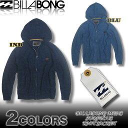 ビラボン ニットパーカージャケット メンズ BILLABONG サーフブランド アウトレット アウター セーター【あす楽対応】