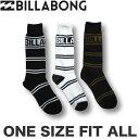 ショッピングビラボン ビラボン メンズ 3足セット ソックス 靴下 BILLABONG アウトレット SALE セール【あす楽対応】 AH012-927