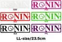 【メール便対応】【あす楽対応】RONIN EYE WEAR/ロニン/スクエア/ロゴステッカー/LLサイズ