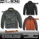 ビラボン メンズ ダウンスタイル ジャケット BILLABONG サーフブランド アウター アウトレットプライス