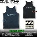 ビラボン メンズ タンクトップ Tシャツ BILLABONG サーフブランド アウトレット