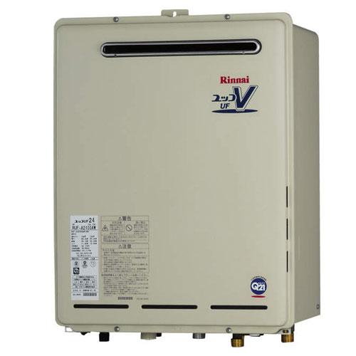 【送料無料】 リンナイ ガスふろ給湯器24号 RUF-A2400SAW(A) 都市ガス・LPG選択可能 オートタイプ 屋外壁掛・PS設置型