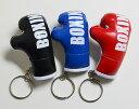 【送料無料】ボクシンググローブ キーリング キーホルダー ストラップ BOXING ボクシング 格闘技 リアル ミニ 赤 黒 青 人気商品