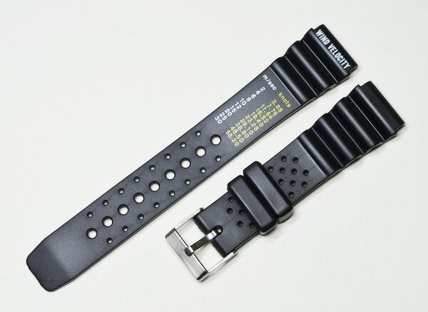 ≪送料無料≫時計ベルトWINDVELOCITYダイビング用黒18mm/20mm/22mmウレタン時計