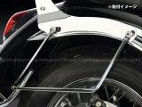 バイク汎用サイドバッグサポート左右セット/タイプ1/1点可動