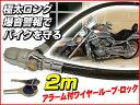 スーパーロング2m!超極太ワイヤーロックキー