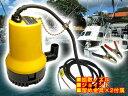 海水、真水対応!小型軽量水中ポンプ70L排水 口径25mm 12V小型船舶用