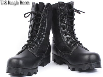 Featured brand new US Army jungle boots black military boots this season!