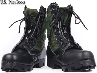 Brand new US Army pilot boots zipper OD