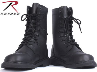 ROTHCO (Rosco) military オールレザーコン combat boots military boots