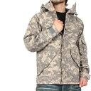 【送料無料】【WIP】新品 米軍G.I.タイプ ECWCSパーカータイトACU デジタル迷彩綺麗なシルエット優れた特質からレインウエアとしてもその機能を発揮【ミリタリージャケット】【米軍 アメリカ軍】