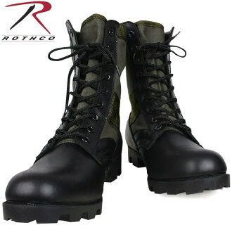 ROTHCO rothco military jungle boots leather OD already classic items! Leather is used