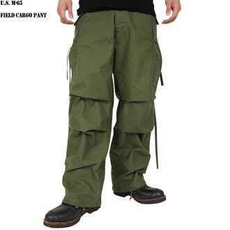 Real brand new US Army M-65 フィールドカーゴ pants Uttar because of straight-forward silhouette is characterized