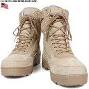 ミリタリーブーツ 新品 米軍 SWAT 10 サイドジッパーブーツ サンド ミリタリーブーツ サバゲー ミリタリー ブーツ mss WIP 【SA】 メンズ