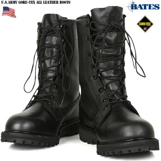 Real brand new US Army-BATES GORE-TEX combat boots US. Orange the highest among ARMY utility footwear boots with removable liners with genuine accessories is dead stock with box