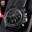 LUMINOX ルミノックス 腕時計 3081 BLACKOUT NAVY SEALs COLOR MARK CHRONOGRAPH SERIES mss WIP 送料無料 10P27May16