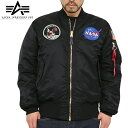 【クーポン利用で10%OFF】【予約販売】【送料無料】【WIP】ALPHA アルファUSA NASA APOLLO MA-1 フライトジャケット日本未発売のALPHA USA限定商品