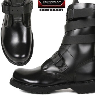 CORCORAN Corcoran HH BRAND (double h brand) tanker boots BLACK leather strap features a boots army tank crew was developed in only a very good making