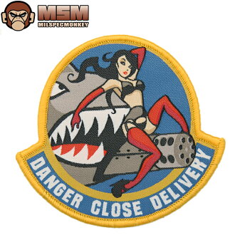 Any mil-spec MONKEY mil-spec Monkey patches (patch) Danger Close FullColor joke patches in the famous mil-spec Monkey patches bag or jacket Velcro Panel allows custom mss WIP various men's