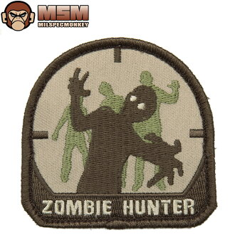 If Velcro Panel, such as MIL-spec MONKEY mil-spec Monkey patches (patch ) Zombie Hunter Arid joke patches in the famous mil-spec Monkey patches bag or jacket various available custom