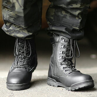 Military boots brand new US Army side Sipper tactical boots black KA7023 sabage boot military boots