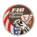 店内20%OFF開催中◆新品 F-16 Fighting Falcon パッチ (ミリタリーワッペン) WIP メンズ ミリタリー アウトド...