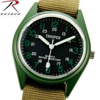 ROTHCO Rothko 4104 field watch made of stainless steel, can be a big success to living waterproof with outdoor, survival game is O. D. FIELD WATCH field watch case