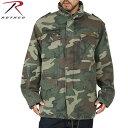 クーポンで15%OFF◆[M-65] ROTHCO ロスコ VINTAGE M-65ジャケット WOODLAND CAMO 長年着込んだ雰囲気を 見事に再現しています! U.S.ミリタリー名品中の名品 送料無料 ROTHCO ロスコ M-65 mss WIP メンズ