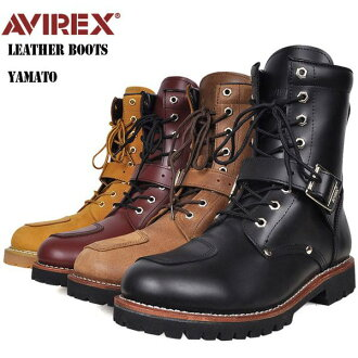 Choose the AVIREX avirexl military buckle boots YAMATO 3-avirex avirex / men's / military / boot / genuine avirex-AVIREX