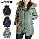 ◆ AVIREX アビレックス 6252053 レディース CM N-3Bフライトジャケット N3B mss WIP 送料無料