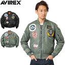 AVIREX アビレックス 6152164 TOP GUN MA-1フライトジャケット mss WIP 送料無料 【クーポン対象外】 メンズ