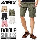 AVIREX アビレックス 6166118 FATIGUE SHORTS ファティーグ ショートパンツ / mss WIP メンズ ショーツ ハーフパンツ カー...