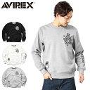 AVIREX アビレックス 6153569 FLEECE LINING スウェットシャツ 送料無料 【クーポン対象外】 メンズ mss WIP
