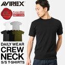 AVIREX アビレックス デイリーウェア 半袖 Tシャツ クルーネック メンズ半袖Tシャツ mss WIP