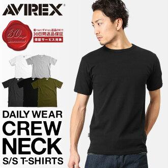 AVIREX avirex T shirt crew neck avirex avirexl short sleeve avirex AVIREX