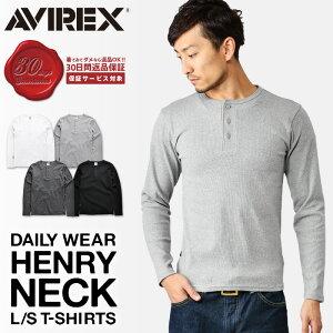 クーポン アビレックス Tシャツ ヘンリー