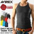AVIREX アビレックス タンクトップ バッククロス デイリーウェア メンズ アヴィレックス マッスルタンクトップ mss WIP 0601楽天カード分割