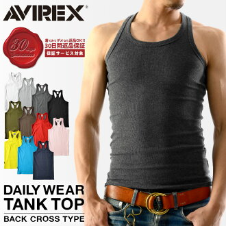 AVIREX avirex tank top back cross daily wear daily were avirex avirexl tank top avirex AVIREX mens tank top