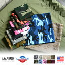 HAV-A-HANK ハバハンク MADE IN U.S.A. CAMOUFLAGE バンダナ 10色 メンズ mss WIP