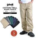 Schott ショット 3146012 COTTON TWILL ワークパンツ WIP メンズ ミリタリー アウトドア ブランド【クーポン対象外】 夏 敬老の日