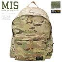 ショッピングデイパック MIS エムアイエス MIS-C103 CORDURA NYLON デイパック / リュックサック MADE IN USA - MULTI CAMO(クーポン対象外) バッグ キャッシュレス 5%還元 新生活応援 衣替え