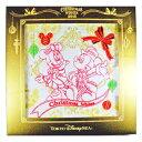 11月2日販売 ディズニーシー 2015「クリスマス・ウィッシュ」 ミッキー&ミニーの刺繍のミニタオル
